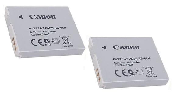 2 Baterias Original Canon Sx510 Sx170 S200hs Nb-6lh