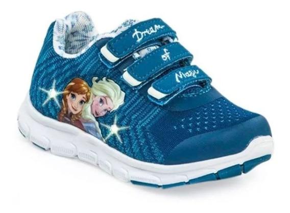 Zapatillas Addnice Frozen Flex Snow Con Luz Fty Calzados