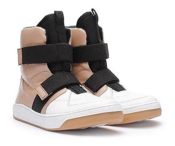 Tênis Sneaker Hardcore Footwear/ Botinha Juju Salimeni Couro