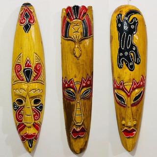 3 Totem Maori Máscara Maori Totemismo Xamanismo