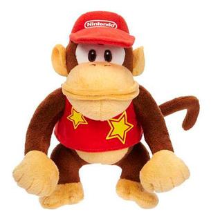 Peluche Juguete Diddy Kong Felpa 18cm Little Buddy /u