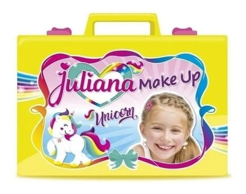 Valija Juliana Make Up Unicorn Chica Creciendo