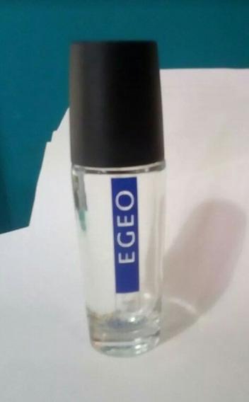 Vidro Vazio Perfume Egeo Man Para Colecionadores