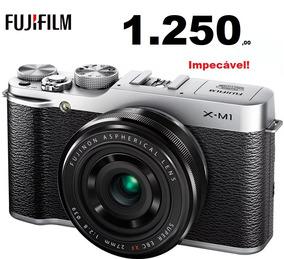 Câmera Fujifilm X M1 Xm1 [corpo] Impecável Completa + Caixa