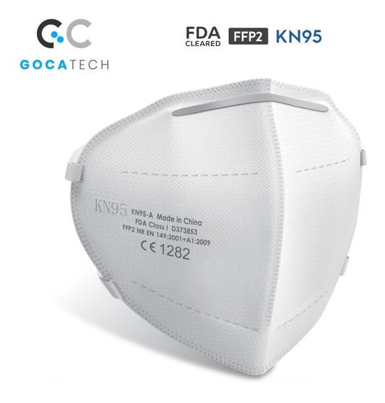 5 Cubrebocas Certific K N95, Protección Virus Reutilizable