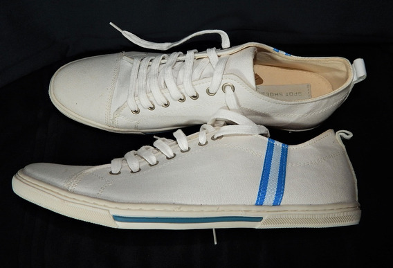 Sapatênis Spot Shoes Em Lona Gorgu Tam: 43 - Branco