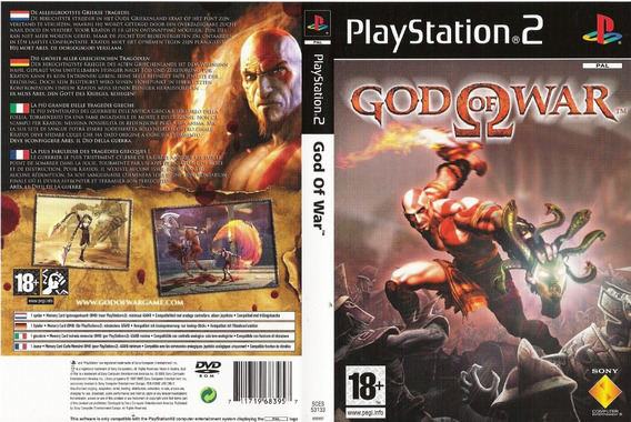 God Of War Collection - Ps2 - Patch - Pt_br - 2 Discos
