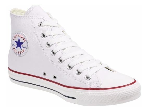 Zapatillas Botitas Converse All Star Chuck Taylor Hi Blancas