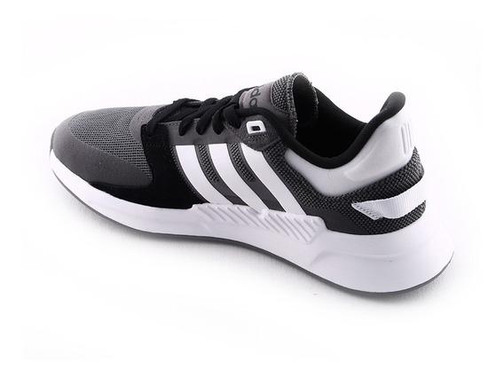 Zapatilla Running Run90s Gr/bl adidas Hombre