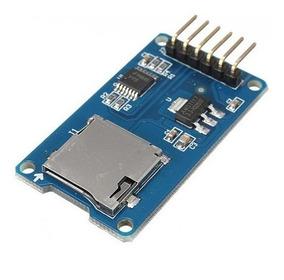 Modulo Leitor Cartão Micro Sd Card (leitura/escrita) Arduino