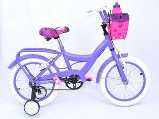 Bicicleta Nena Niña Cross R16 Bmx Envio Gratis
