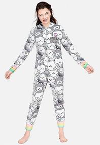 Macacão Pijama Justice Menina Tamanho 8