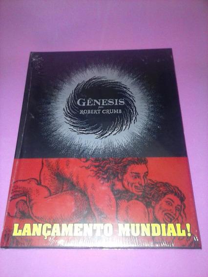 Hq Genesis Por Robert Crumb Capa Dura Encadernado Lacrado