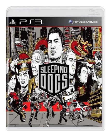 Game Play3 - Sleeping Dogs - Semi-novo Jogo Ps3