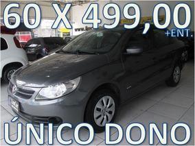 Volkswagen Voyage Flex Unico Dono Entrada +60 X 499,00 Fixas
