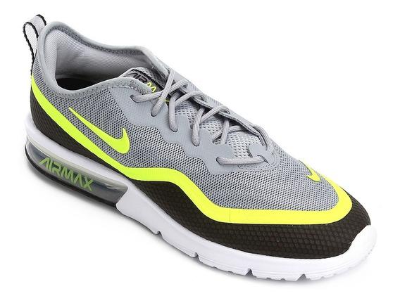 Tênis Lançamento Nike Air Max Sequent 4.5 Masculino Preto