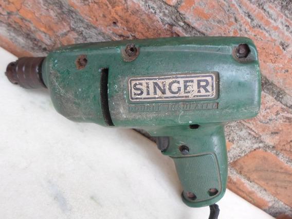 Antiga Furadeira Singer Anos 70 Funcionando Em 220 Volts