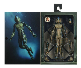 Neca Shape Of Water Amphibian Man 7