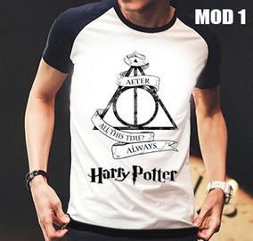 Camisa/camiseta Raglan Harry Potter Pronta Entrega