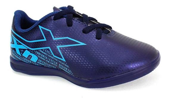 Tênis Indoor Oxn Velox 3 Menino Azul
