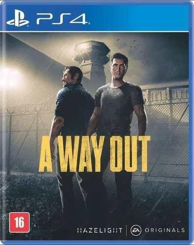 A Way Out Ps4 Mídia Física Pronta Entrega Legendad Português