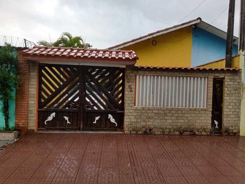 Casa Geminada Em Itanhaém/sp - Ca282-f Lc