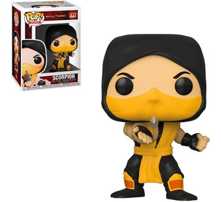Scorpion Mortal Kombat Funko Pop Games Original