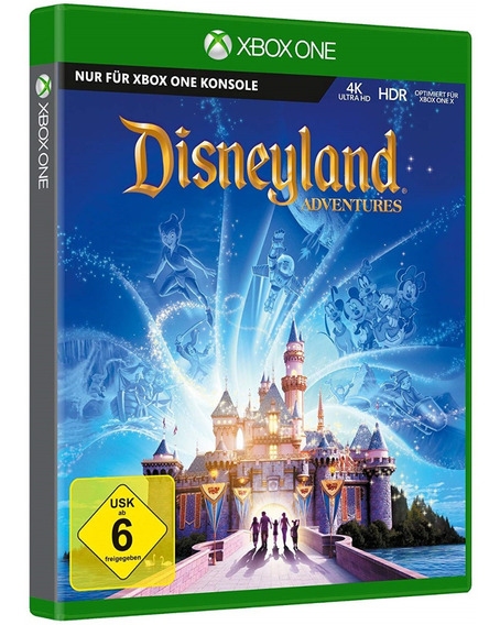 Jogo Kinect Disneyland Adventures Disney Xbox One Disco Fisico Original Lacrado Português Barato