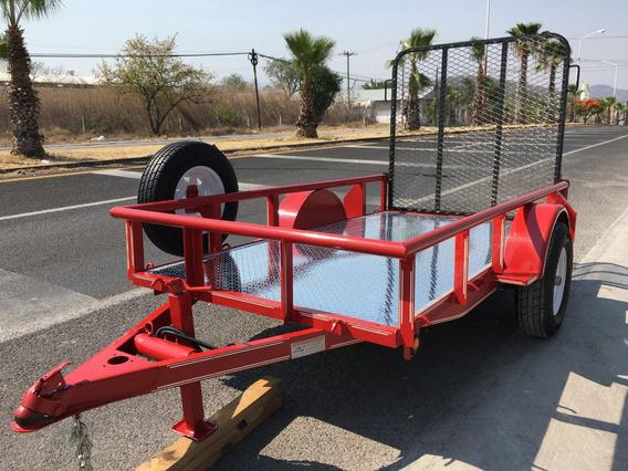 Remolque,plataforma,motos,cuatrimotos, Piso De Aluminio