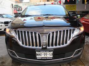 Lincoln Mkx V6 Nav 4x4 At 2013 Con 51,400 Kilometros