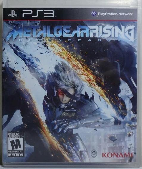 Jogo De Ps3 Metal Gear Rising Em Mídia Física