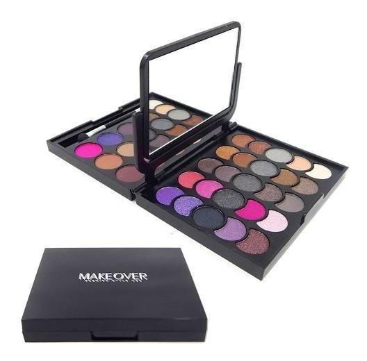 Makeover Set Maquillaje Paleta De Sombras Y Rubores Jes-159