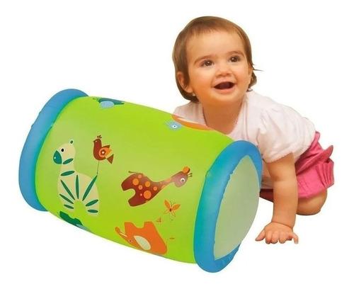 Imagen 1 de 4 de Inflable Baby Roller Para Bebe Con Cascabel Rueda Y Suena Ed