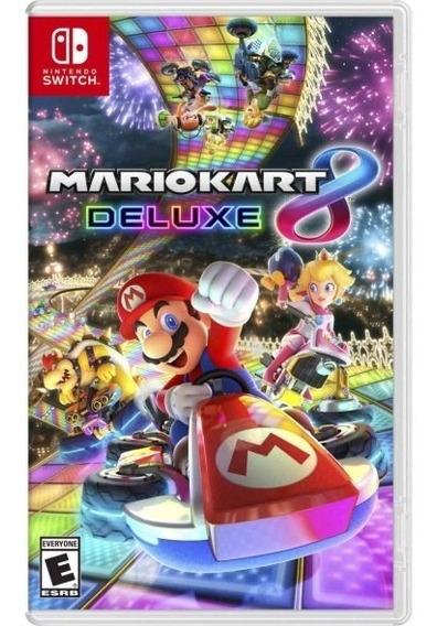Mario Kart 8 Deluxe Switch - Mídia Física Lacrado