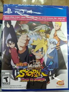 Naruto Shippuden Ultimate Ninja Storm 4 - Road To Boruto Ps4