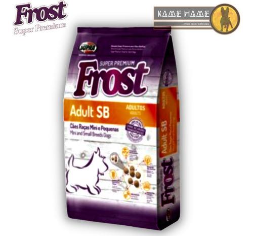 Imagen 1 de 3 de Frost Adulto Razas Pequeñas Y Medianas  (10 Kg)