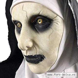 Mascara Pelicula La Monja Terror Halloween Tenebrosa