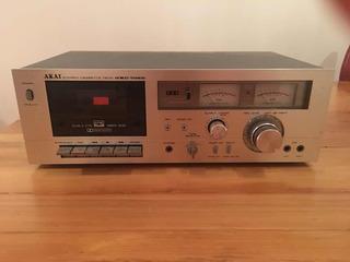 Akai Stereo Cassette Deck Gnc 706 Y De Regalo La Radio !!