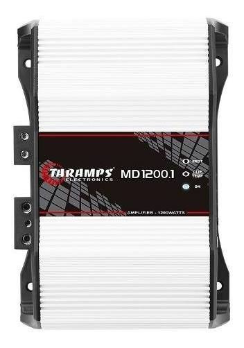 Modulo Amplificador Taramps Md1200 1 Ohm 1200w Automotivo