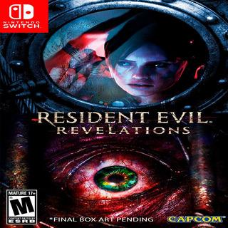Oni Games - (agotado) Resident Evil Revelations C N Switch