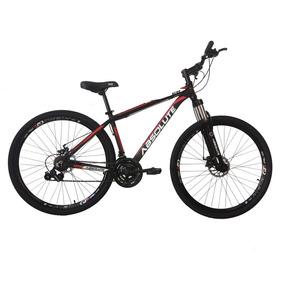 Bicicleta Aro 29 Em Alumínio Preto/vermelho Absolute Nero