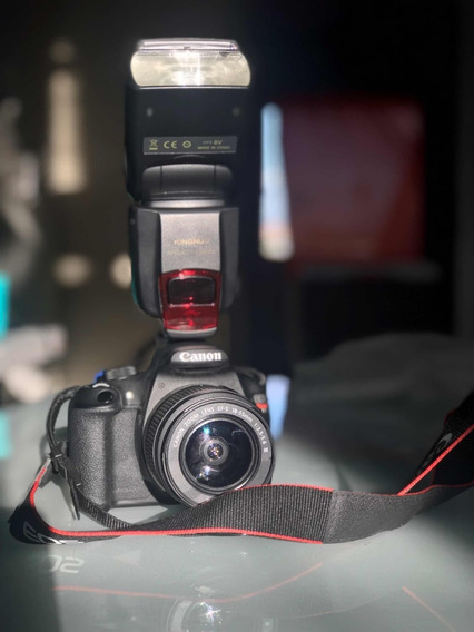 Câmera Dig. Cânon T5 18-55 Preta