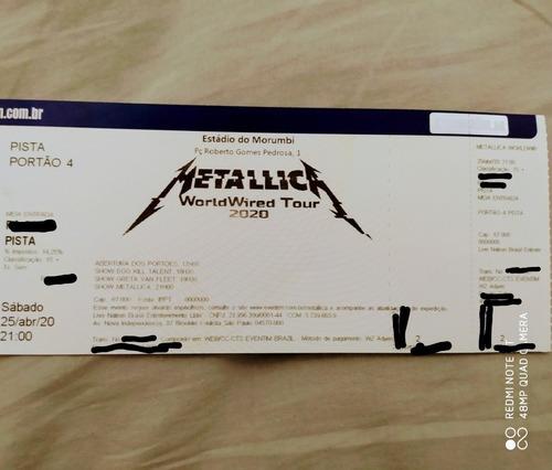 Ingresso Show Metallica E Greta Van Fleet 2021