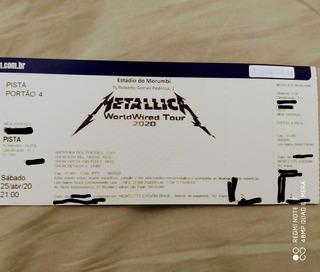 Ingresso Show Metallica E Greta Van Fleet 2020