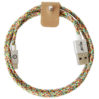 Cable Micro Usb My Lab Cm-mc Multicolor