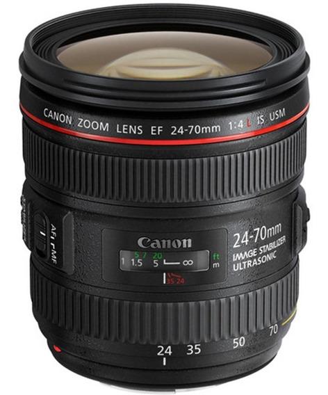 Câmera Canon Eos 5d Mark Iv Com 24-70mm F/4l