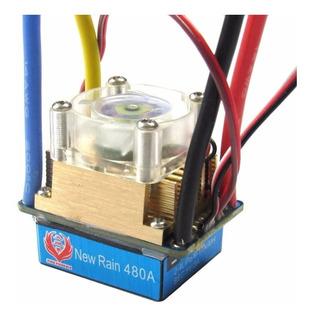 Acelerador Electronico Cepillado 480 A Rc Crawler, Buggy Etc