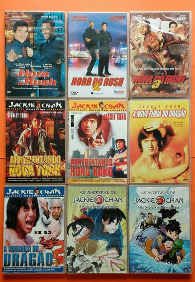 Dvd Jackie Chan Coleção Contendo 76 Filmes