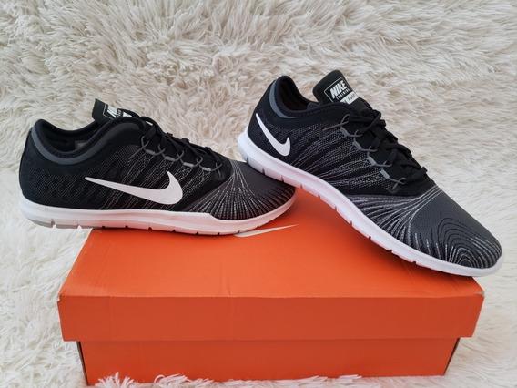 Tênis Nike Feminino Wmns Flex Adapt Preto E Cinza Original