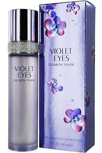 Perfume Elizabeth Taylor Violet Eyes Feminino 100ml Edp Novo